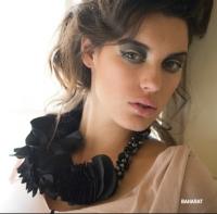 Baharat silk necklace