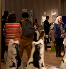 The Transfer Station provided a wonderful setting to enjoy art, fashion and entertainment